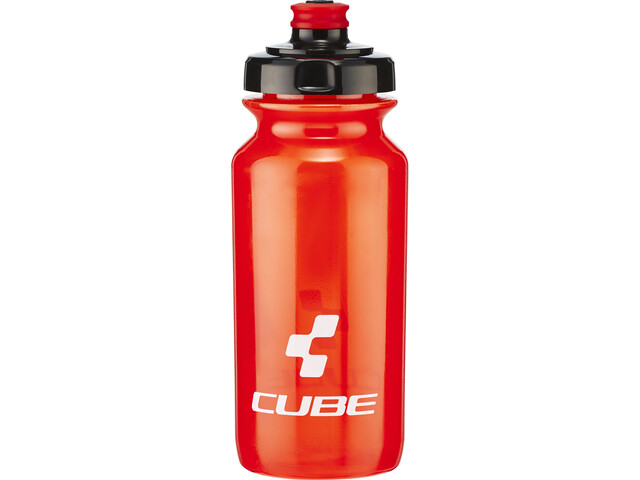 Cube Icon Drinking Bottle 500ml, red